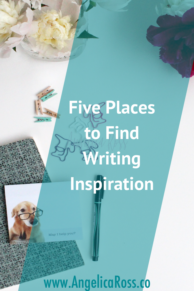 Five places to find writing inspiration