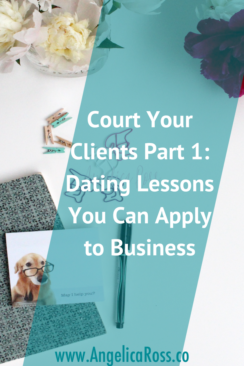 Count your clients: dating lessons you can apply to business
