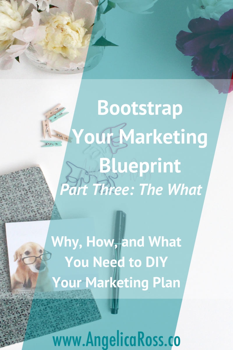Bootstrap your marketing blueprint