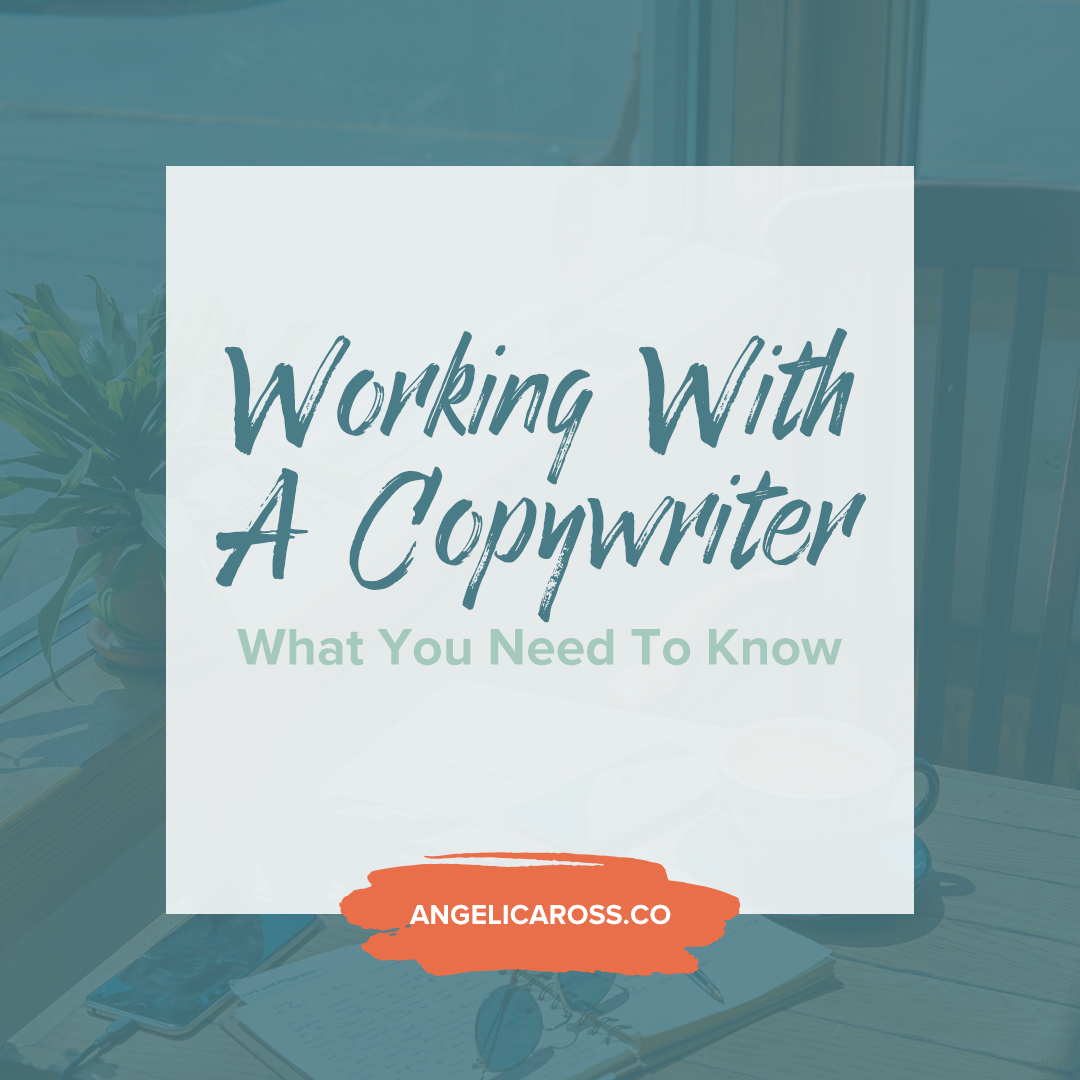 Working with a copywriter is easy when you set expectations from the beginning. Here's how you can successfully work with a copywriter starting today!