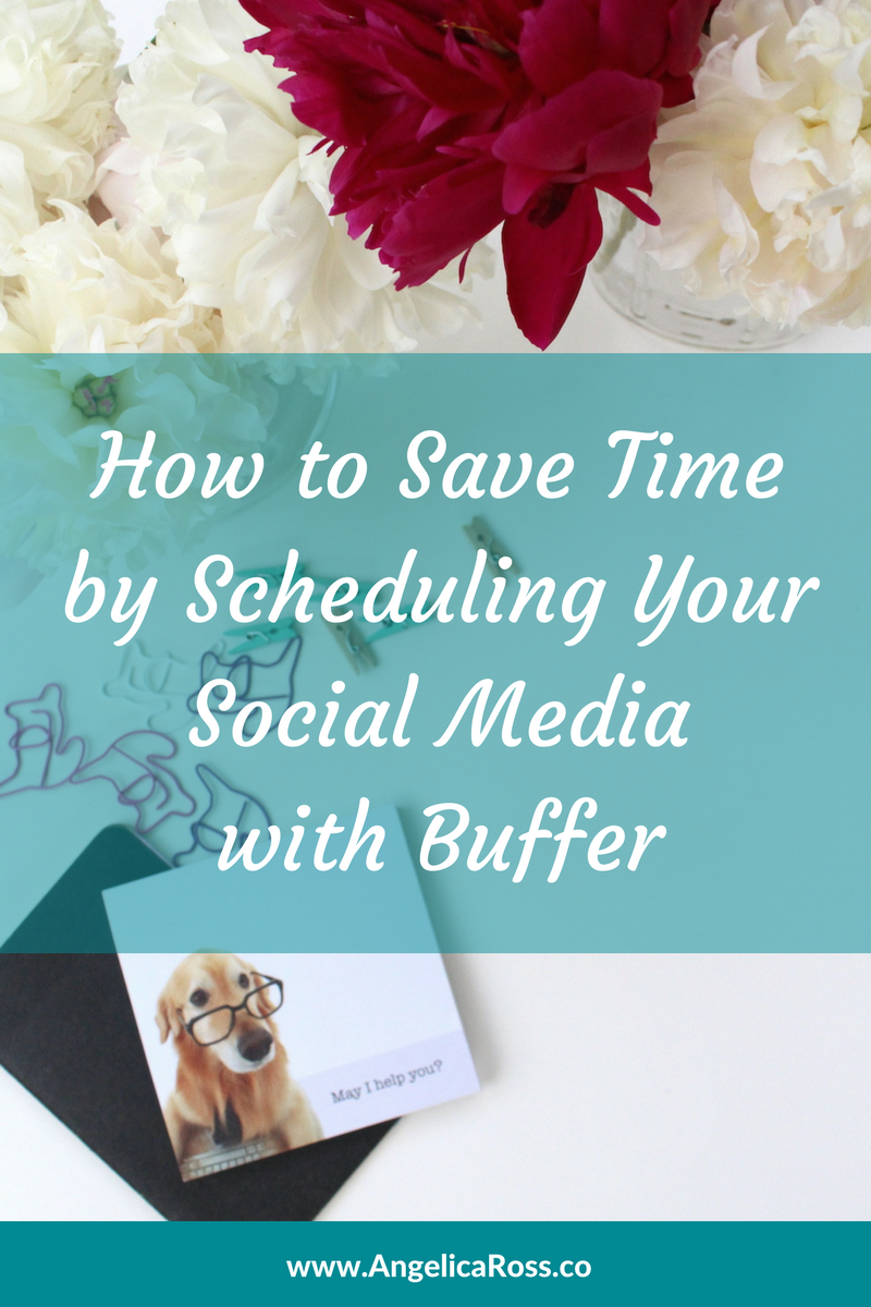 How to save time by scheduling your social media with Buffer
