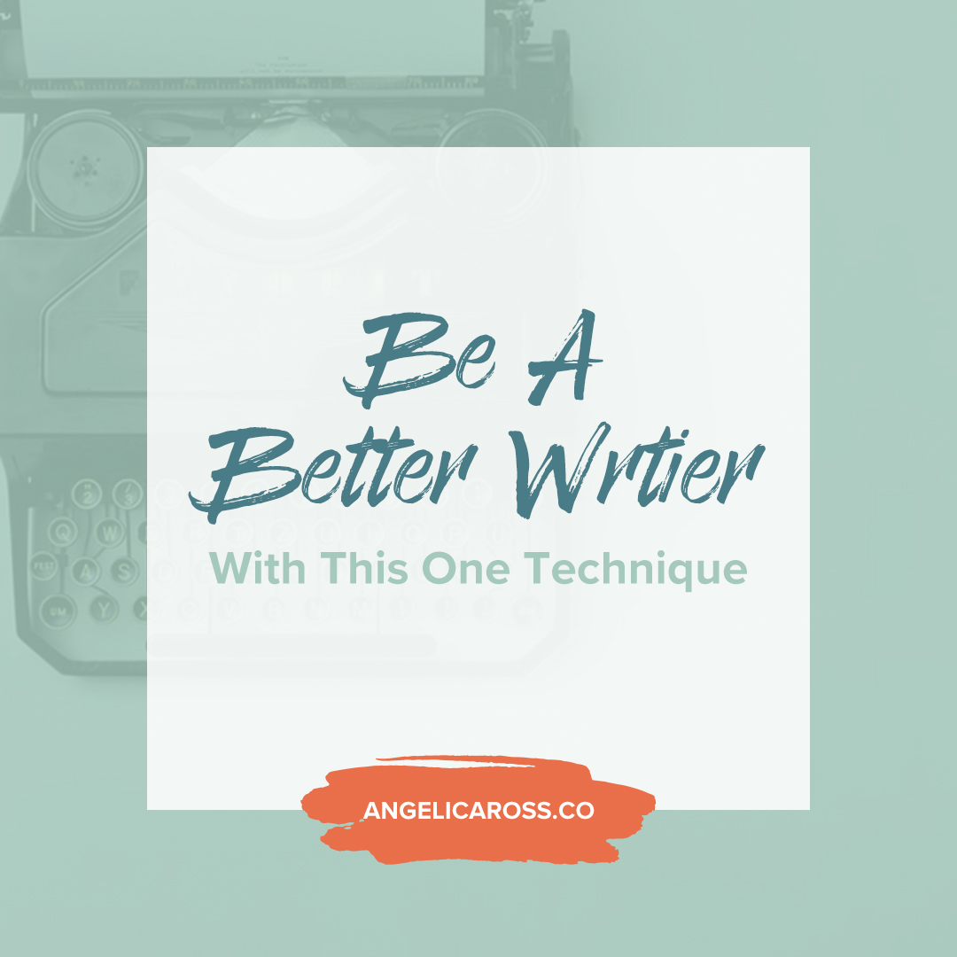 Effective communication is a must, especially if you're using your words to connect and convert an audience. This one tip will make you be a better writer.