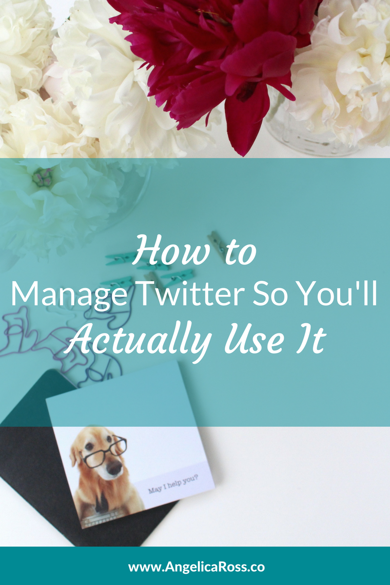 How to manage Twitter so you'll actually use it
