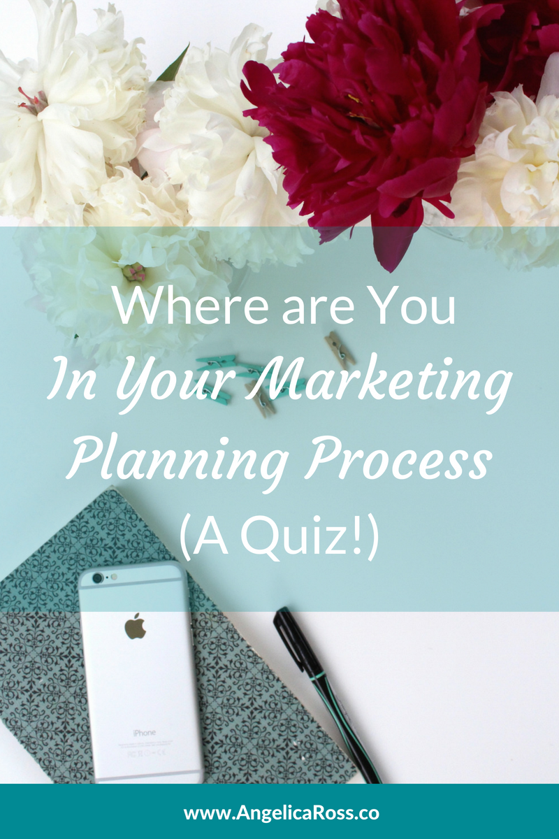 Where are you in your marketing planning process