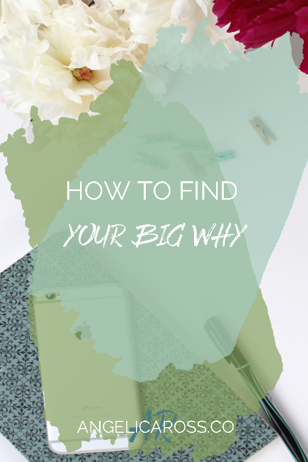 Your Why is a driving force that forms what you write write, everything that your brand stands for, and drive your forward to present a consistent message.