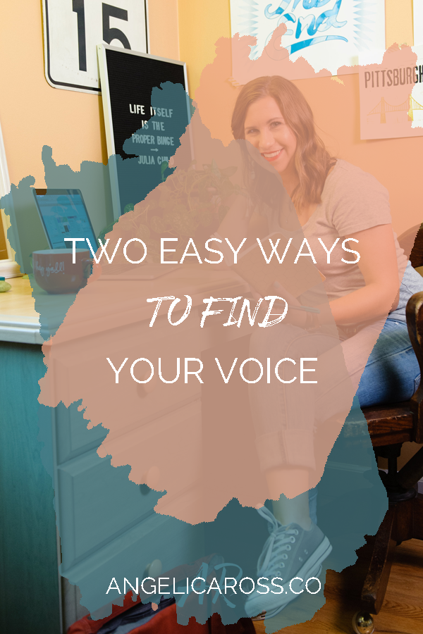 The voice you use in your copy is just as much a part of your brand and distinguishing features as your colors and fonts. Here are two easy ways to nail it.