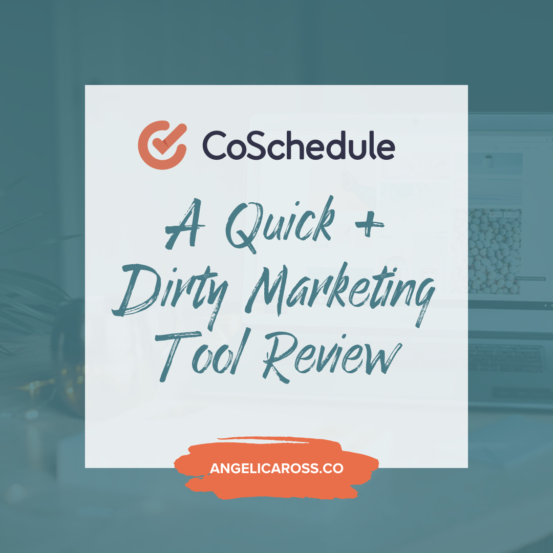 What is CoSchedule, what does it do, and is it worth it? It automates your content marketing and is a marketing tool everyone needs for these easy reasons!