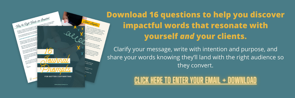 16 Copywriting Questions Opt In
